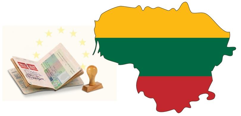 Виза в Литву для ребенка - карта страны